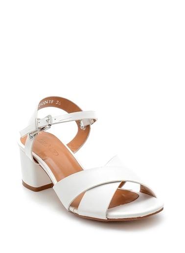 Derimod Kadın Sandalet (3070-13005-Z4) Casual Beyaz